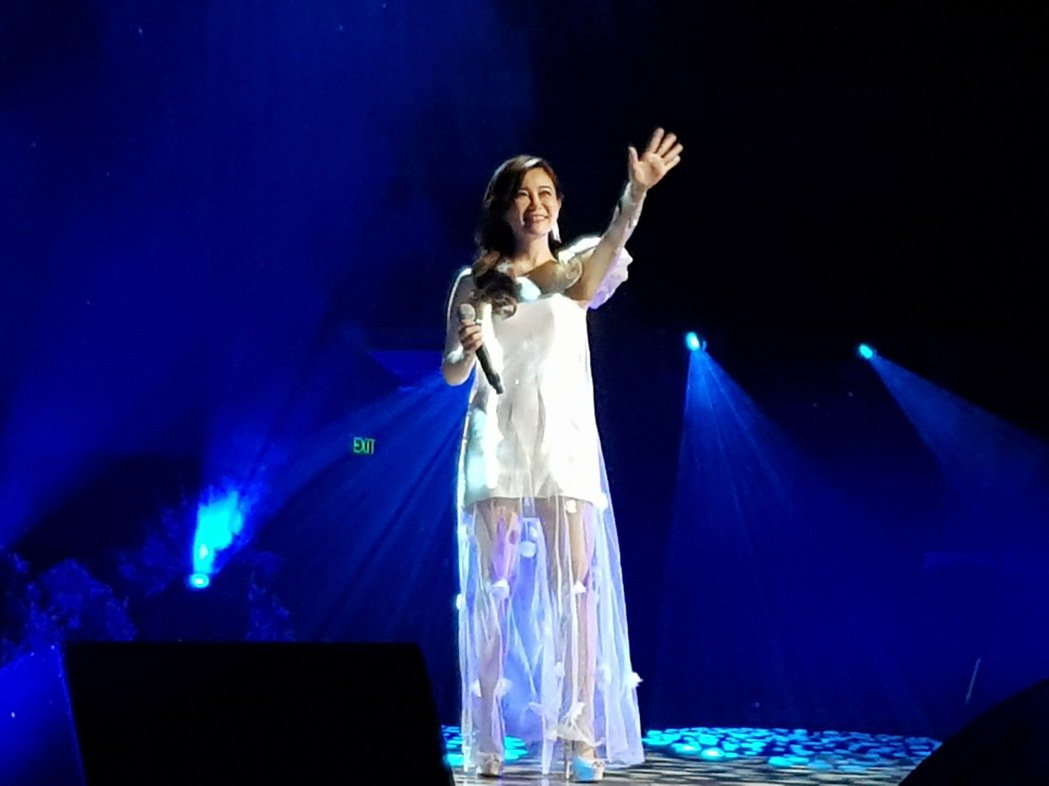黃思婷在澳洲開唱。圖/豪記提供