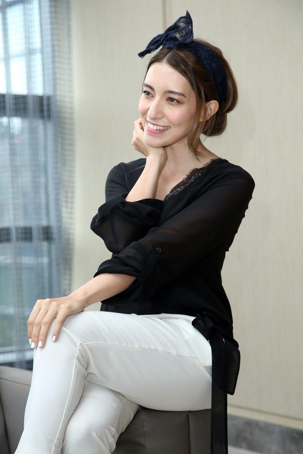 LARA梁心頤出席與髮型示範。記者陳瑞源/攝影