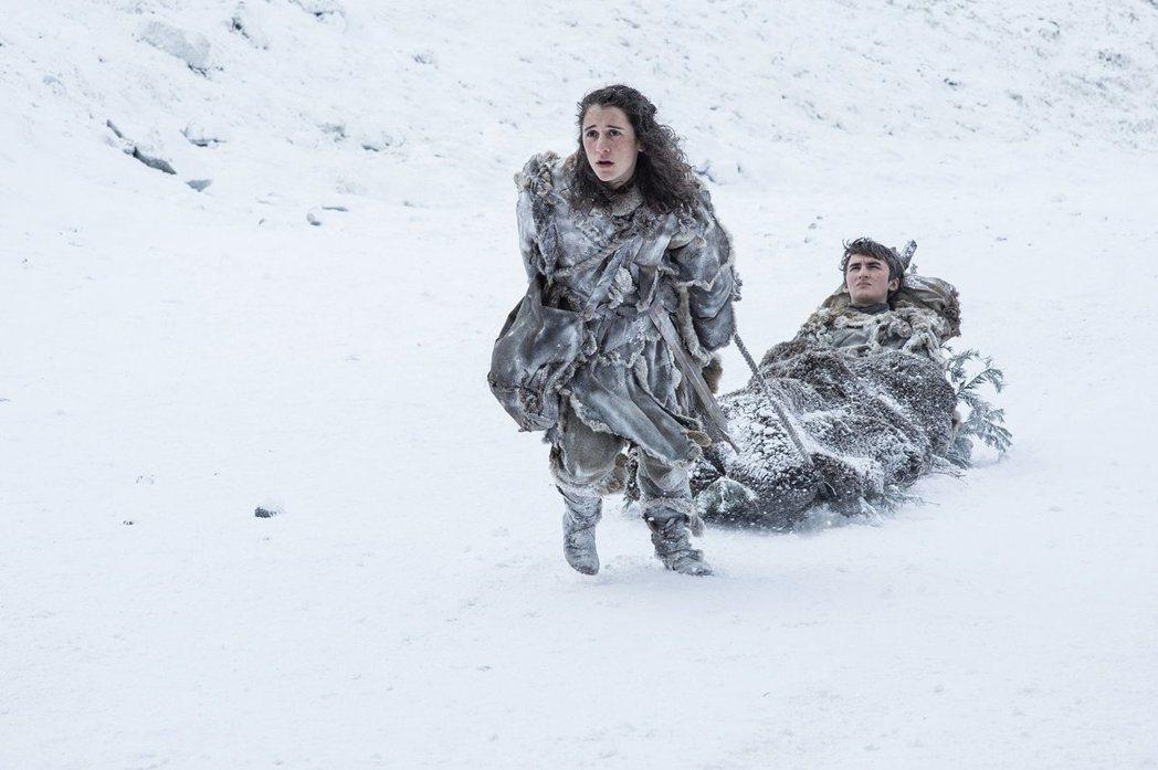「冰與火之歌:權力遊戲」最新一季美國首播收視再創新高。圖/HBO提供
