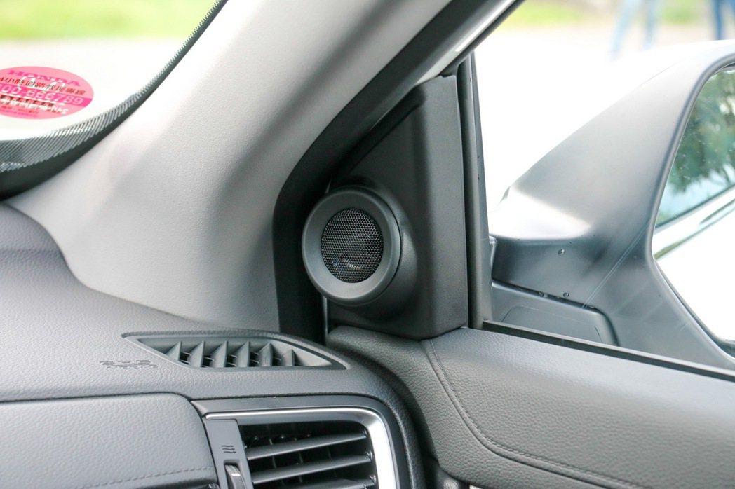 1.5S及1.5 VTi-S車型均配備8支高傳真揚聲器。 記者史榮恩/攝影