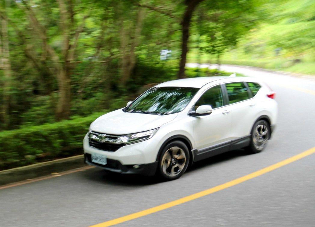 Honda CR-V戰力十足。 記者史榮恩/攝影