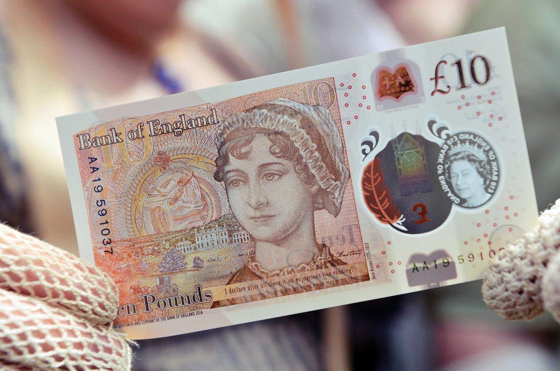 這張新鈔亮相後,英國文壇卻爆出了眾多批評,指責英格蘭銀行「小時不讀書」,才會在鈔...