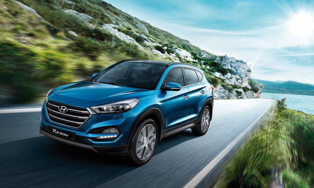 圖為Hyundai Tucson。 摘自Hyundai