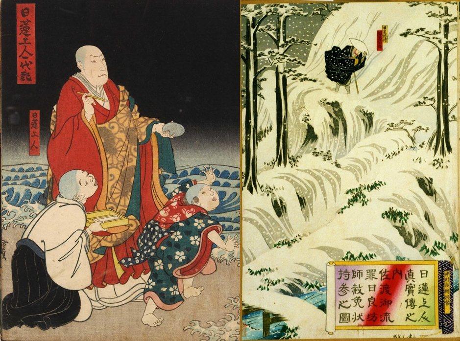 日蓮因強烈批判其他佛教宗派,遭致他派僧侶對其展開襲擊與迫害,最終受到幕府流放處分...