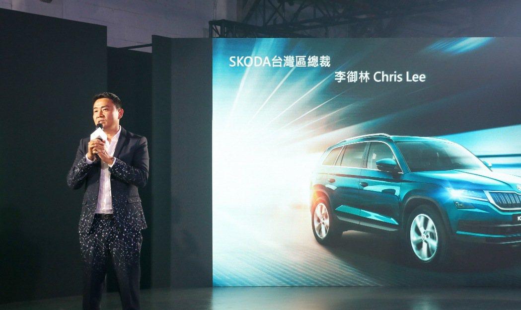 台灣Škoda總裁李御林對安全有絕對堅持,硬要台版Kodiaq標配9顆安全氣囊。...
