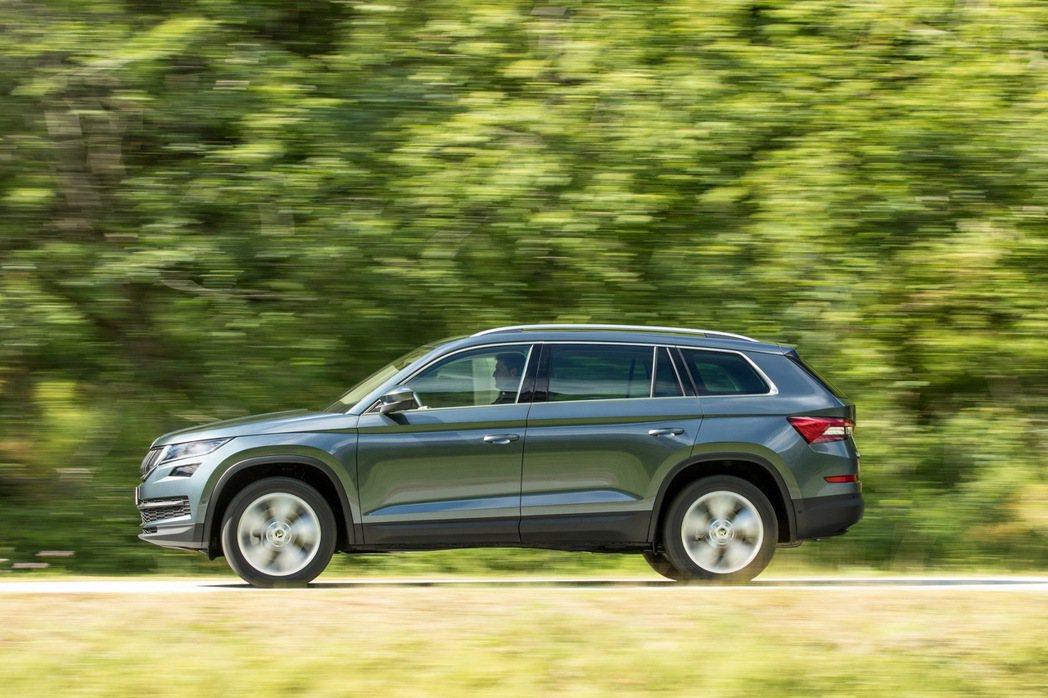 Škoda旗下第一款大型SUV Kodiaq自推出以來好評不斷. 圖/Škoda...