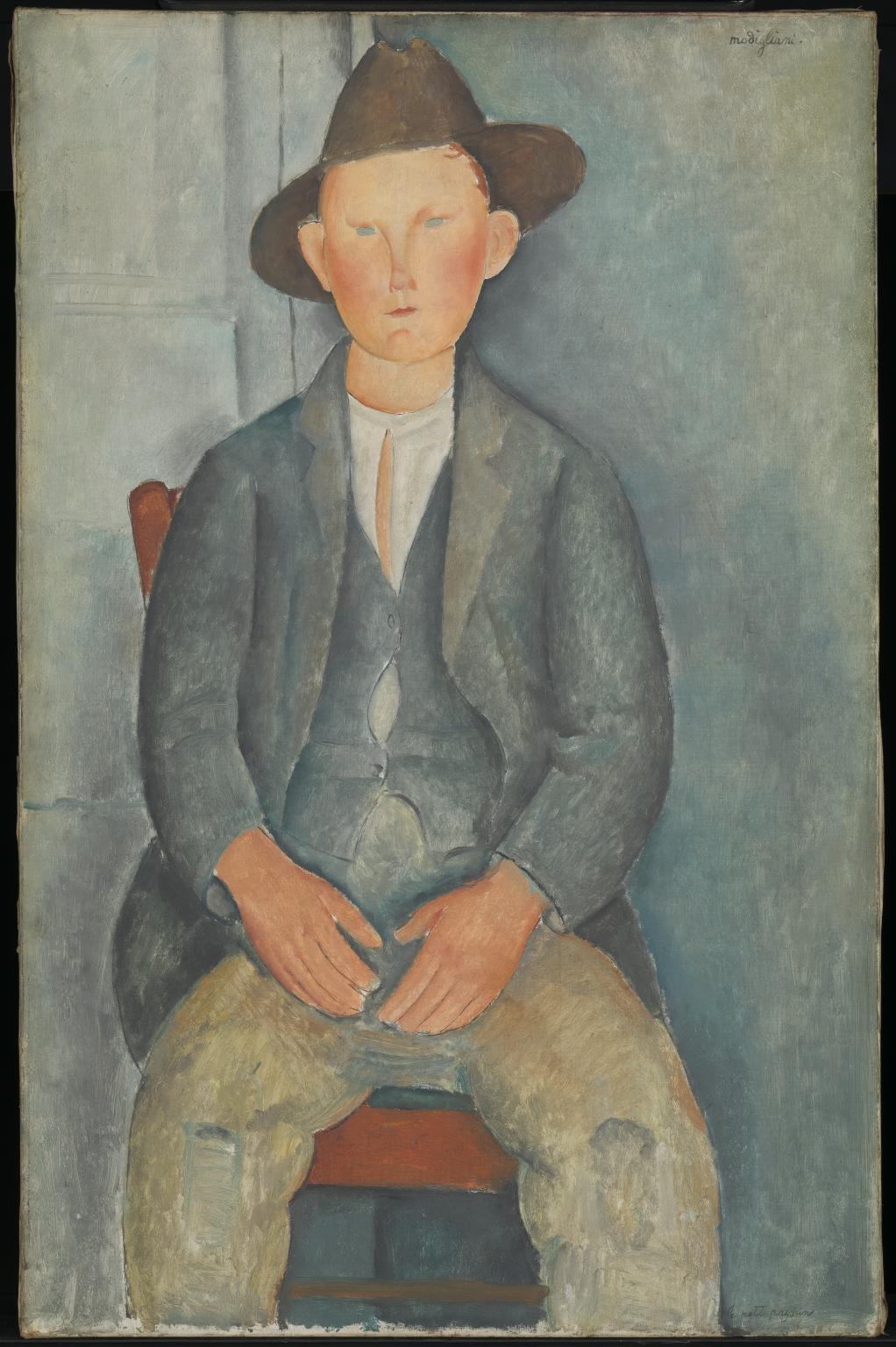Amedeo Modigliani〈The Little Peasant〉c. ...