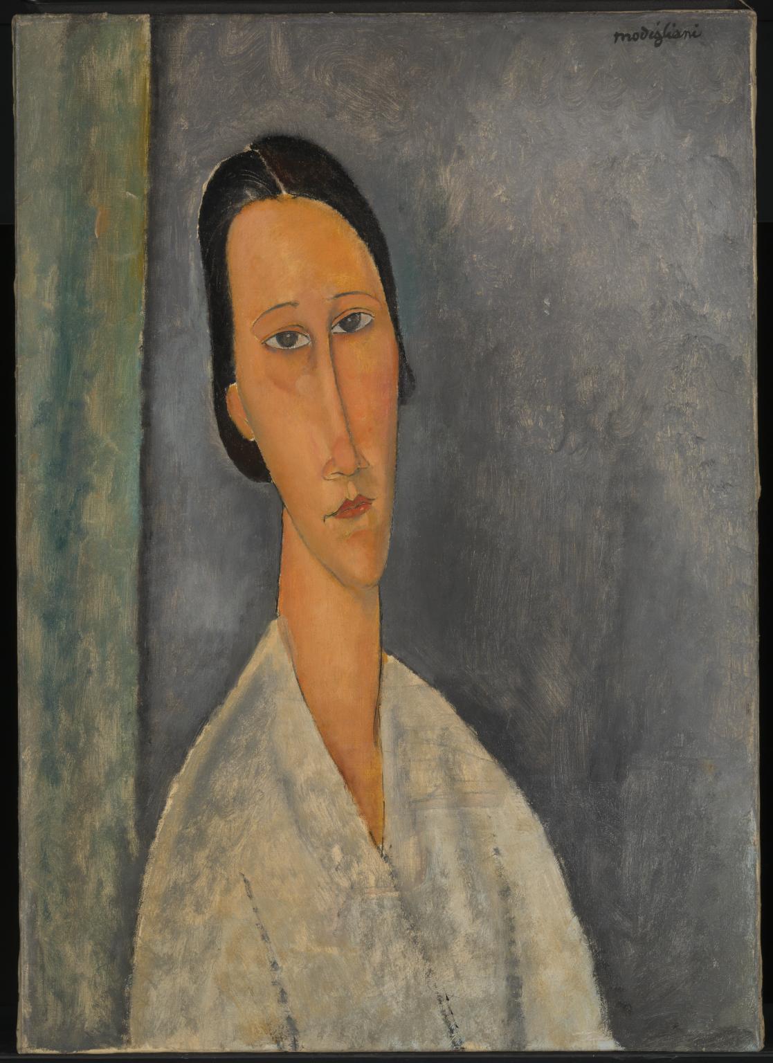 Amedeo Modigliani〈Madame Zborowska〉c. 19...