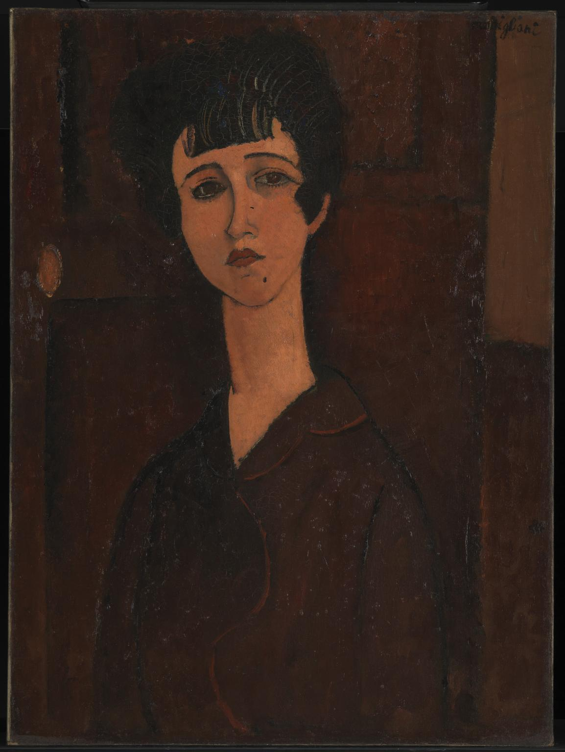 Amedeo Modigliani〈Portrait of a Girl〉c. ...