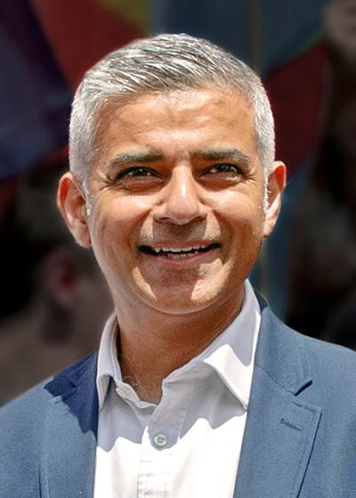 英國倫敦市長薩迪克.汗(Sadiq Khan)。圖/wiki。