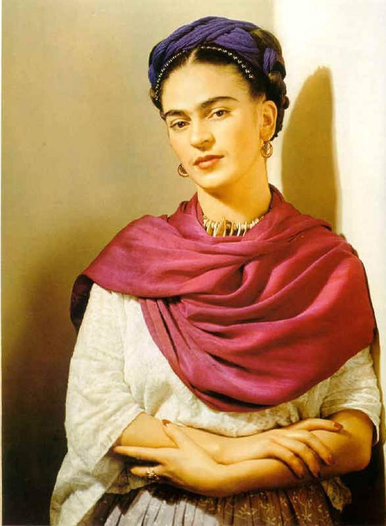 墨西哥畫家芙烈達‧卡蘿。圖/取自Flicker。