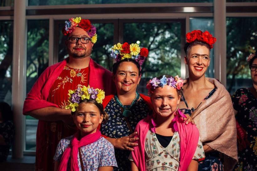 「卡蘿盛宴」現場照片。圖/ 達拉斯美術館提供。