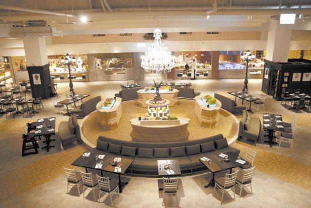 君品品茶苑每張餐券最低7折599元。圖/君品酒店提供