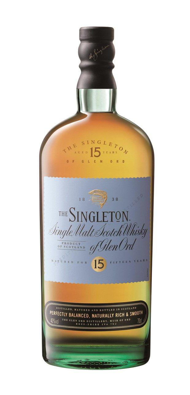 蘇格登15年單一麥芽威士忌,建議售價2,080元。