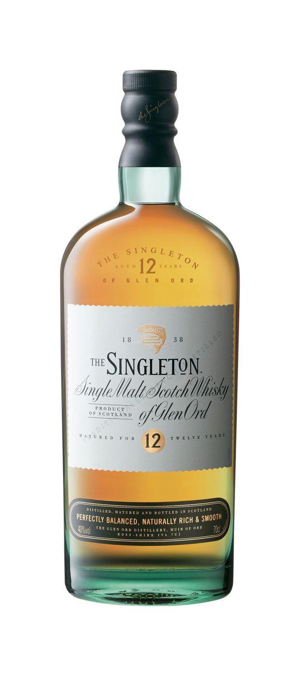 蘇格登12年單一麥芽威士忌,建議售價1,450元。