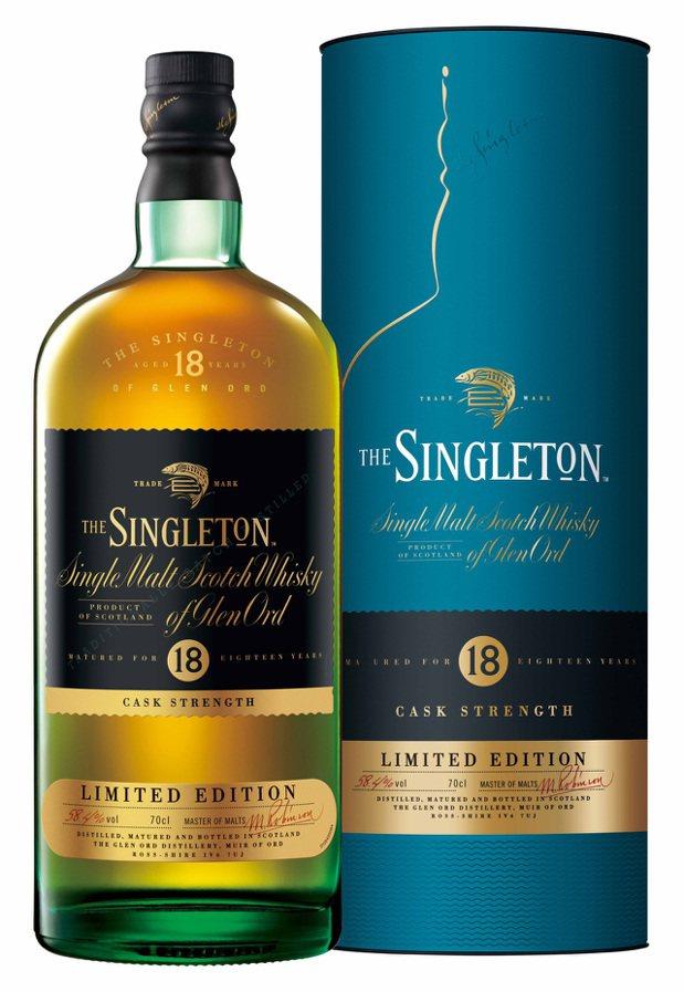 蘇格登18年單一麥芽威士忌原酒(含盒),建議售價3,900元。
