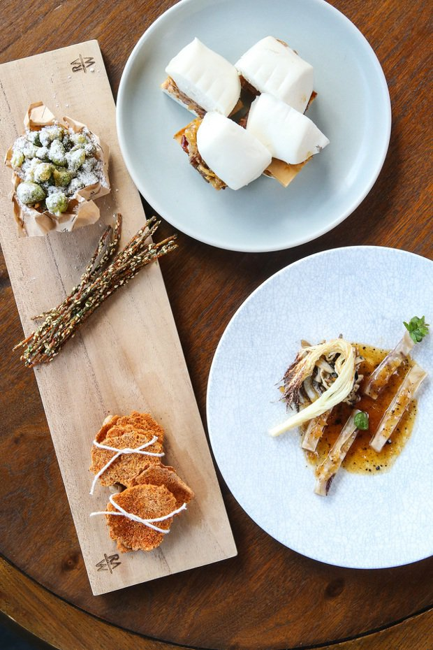 RAW為LEXUS專門特製的餐點。 記者王騰毅/攝影