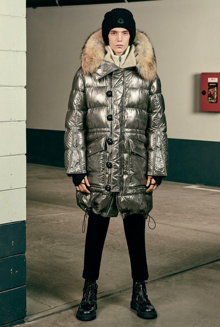 MOONRAY推出的男裝系列超帥氣。圖/MONCLER提供