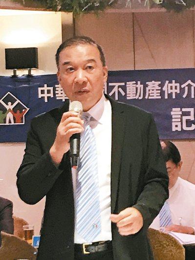 房仲公會全聯會理事長林正雄 郭及天攝影/聯合報系資料照