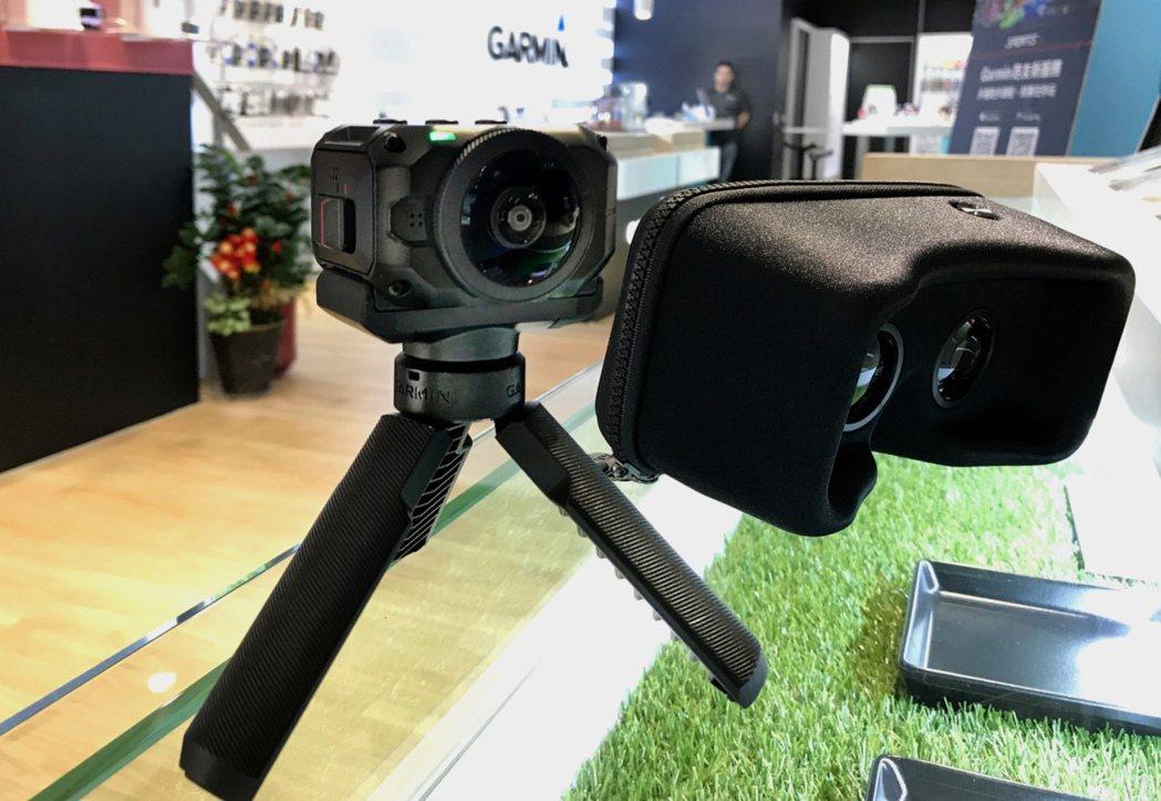 看好VR 400億美元大餅 Garmin推360度全景相機