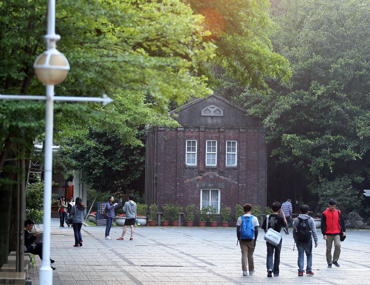 台北科技大學校園一隅。聯合報系資料照片/記者許正宏攝影