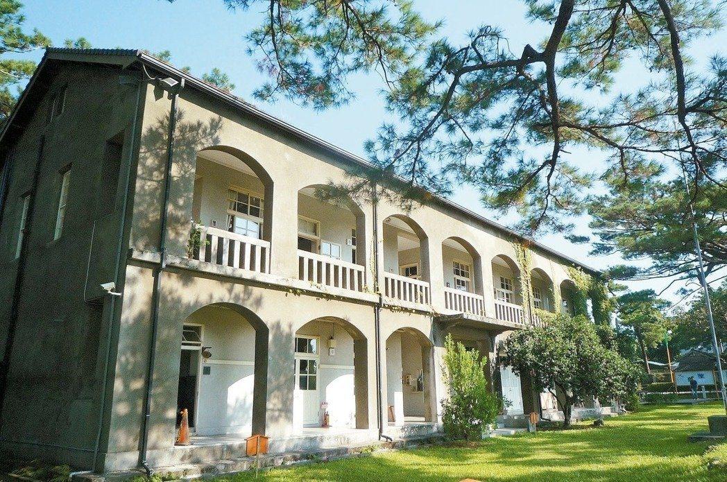 松園別館是花蓮代表性的古蹟建築。圖/松園提供
