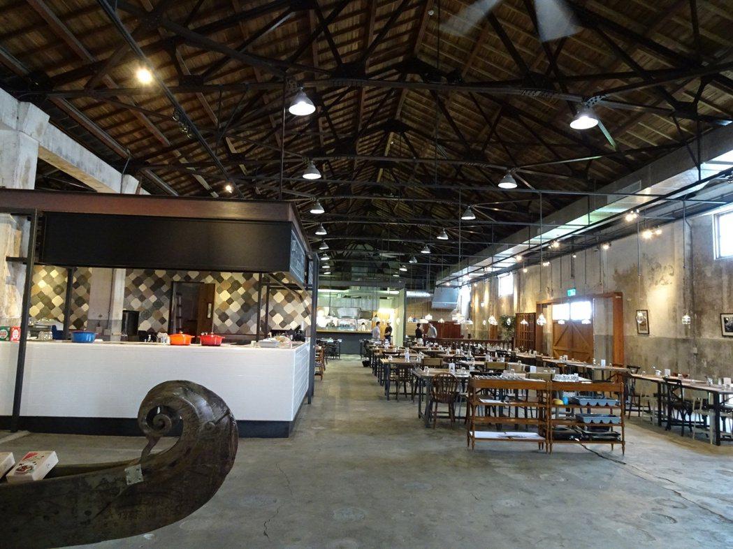 位於花蓮文創園區內的「恆好」餐廳。記者段鴻裕/攝影