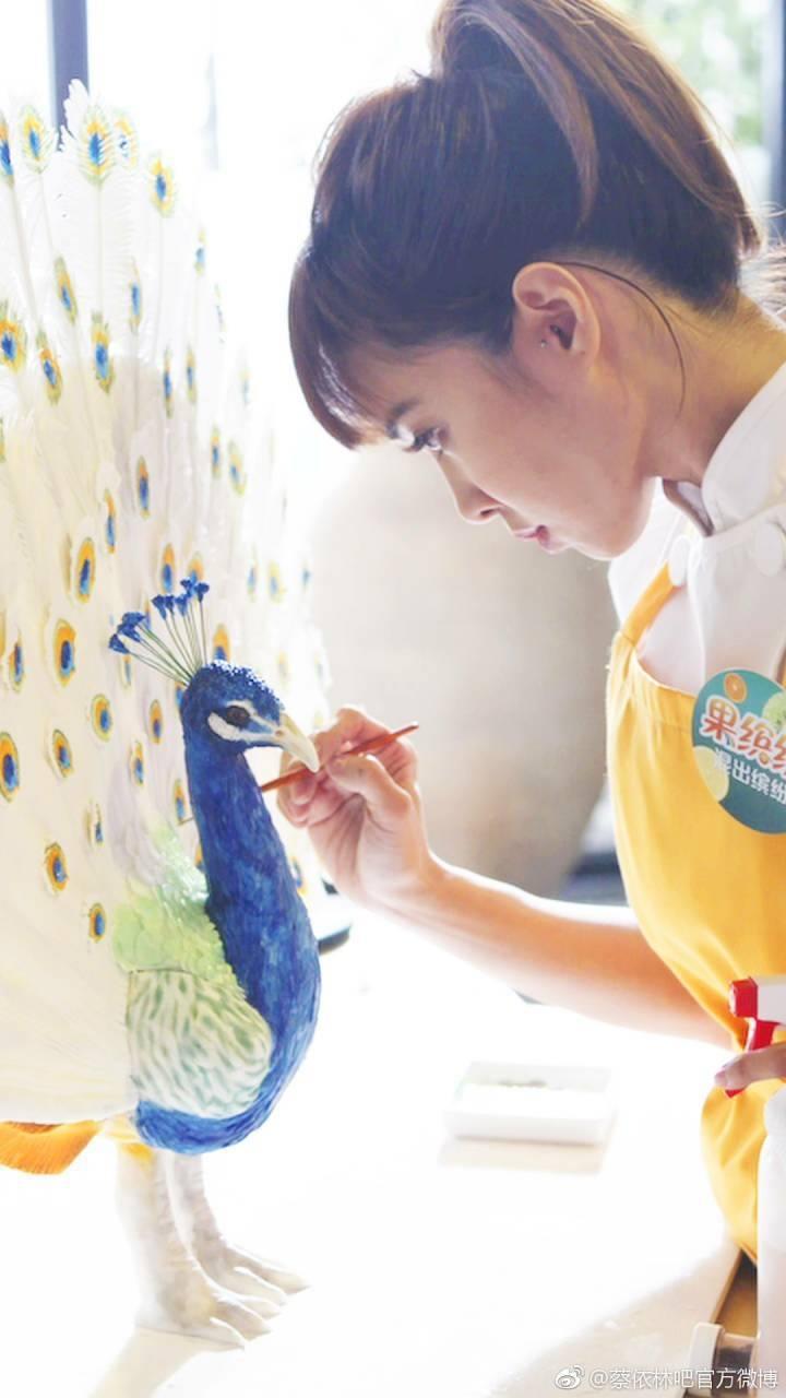 現在蔡依林製作的翻糖蛋糕手藝更加精進。 圖/擷自蔡依林臉書