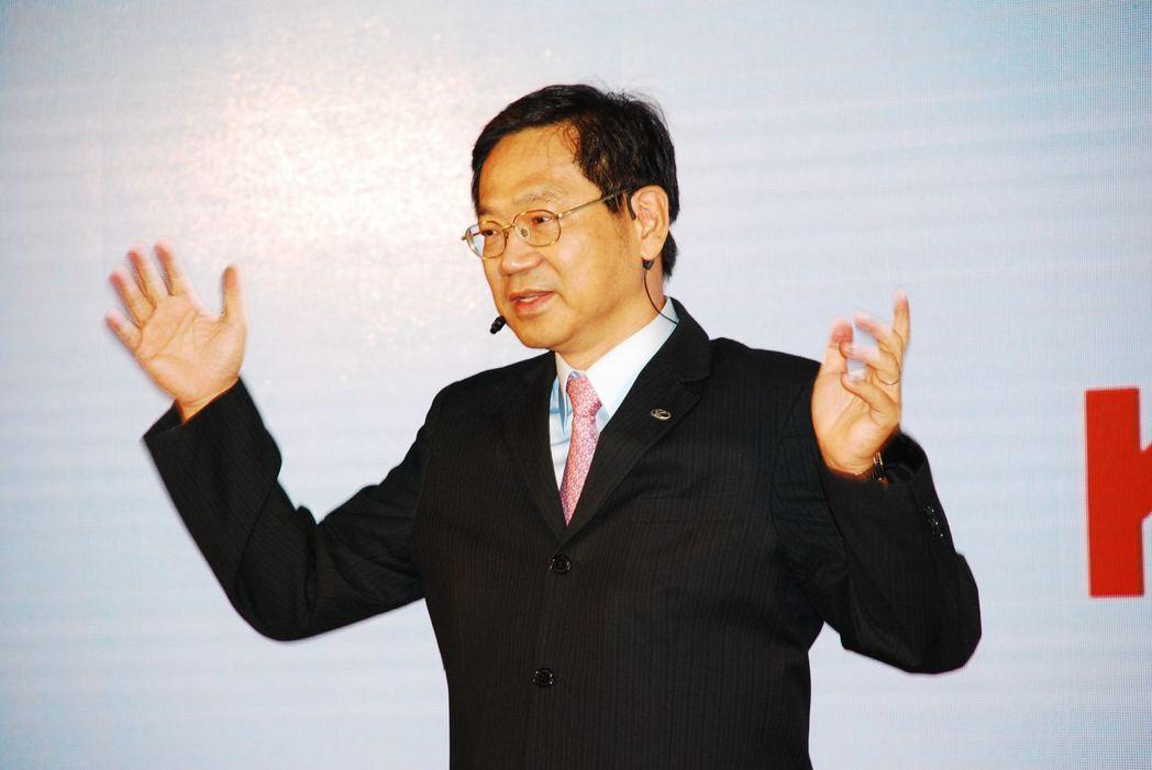 KYMCO執行長柯俊斌。記者林昱丞/攝影