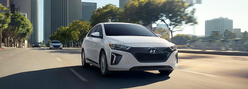 圖為Hyundai Ioniq。 摘自Hyundai Korea