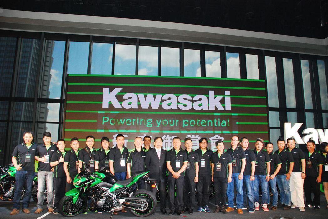 2017年度Kawasaki新車御賞會。記者林昱丞/攝影