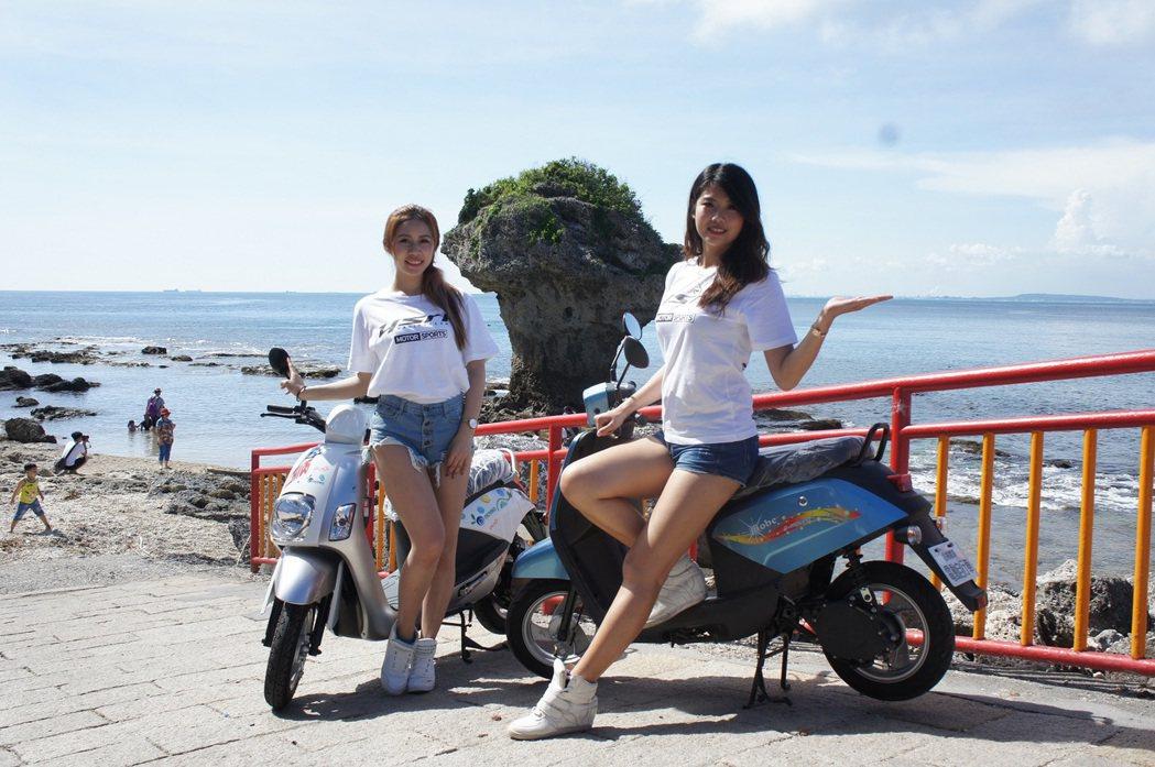 中華汽車電動二輪車趁勢推出11,800元騎回家「豪省」方案,為學生及小資族群精省荷包 。 圖/中華汽車提供