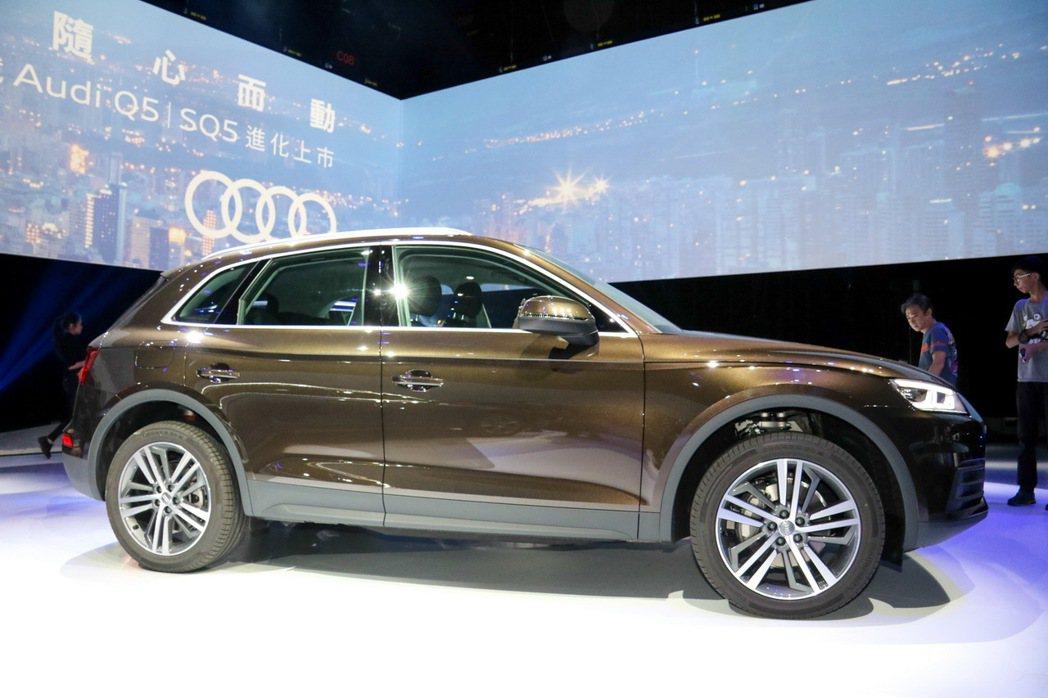 Audi Q5。 記者史榮恩/攝影