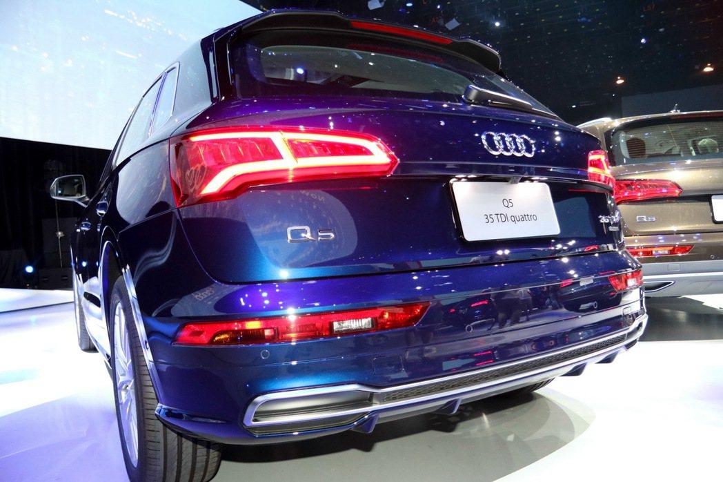 Audi SQ5。 記者史榮恩/攝影