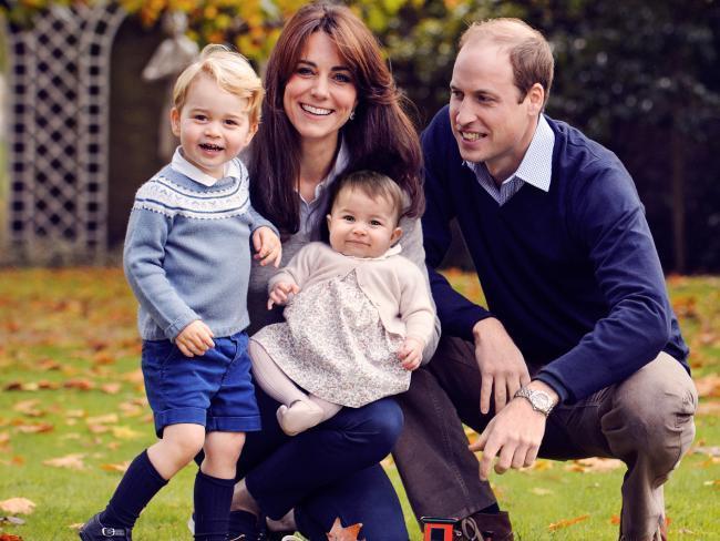 威廉王子與凱特王妃經常穿著休閒。 圖/摘自每日郵報