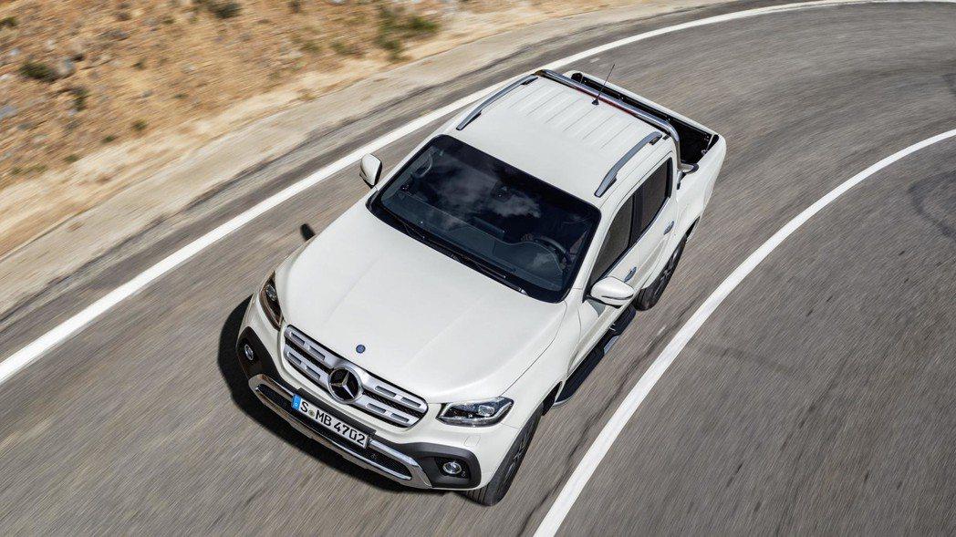 X-Class初期提供2.3升四缸柴油渦輪引擎,最大動力分別有163hp/41.1kgm及190hp/45.9kgm。 圖片來源:M.Benz