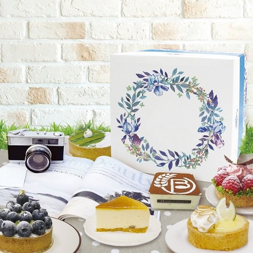 精美的禮盒不管是生日派對或是午茶小聚會都適合。圖由廠商提供。