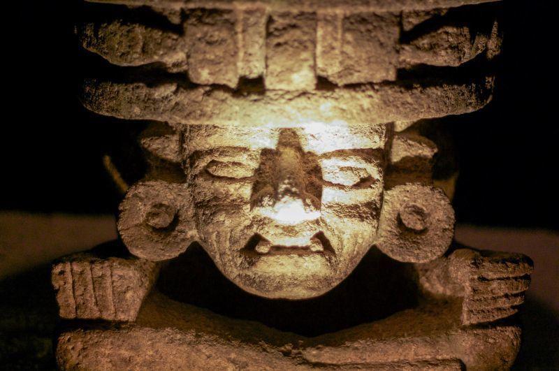 由石雕可以看出特奧蒂瓦坎文明與馬雅文明的相似處。(Photo│123RF)