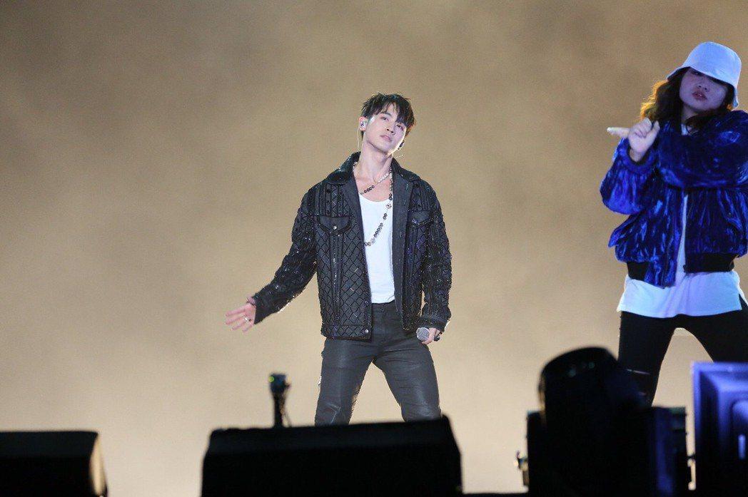 吳思賢(小樂)獲得MTV「最具潛質男歌手」。圖/MTV提供