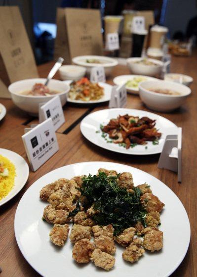 UberEATS昨天公布平台外送的十大人氣美食。 記者曾吉松/攝影
