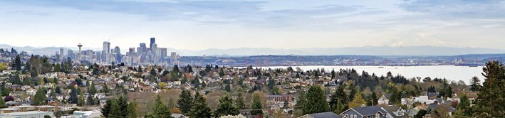 西雅圖生活環境優異、工作機會多,房價持續上漲。(商麗麗/提供)