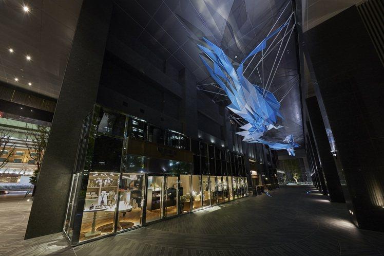 飛龍在天般的「琉璃雲」。圖/忠泰集團提供