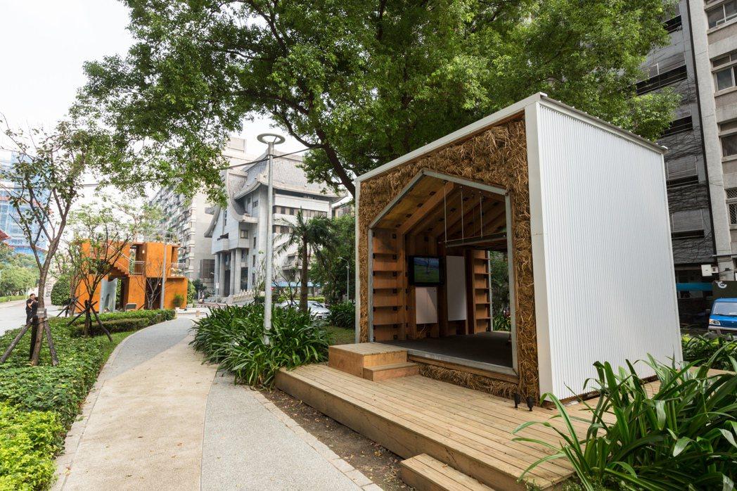 忠泰在周邊街區也設置不少藝術品。圖/忠泰美術館提供
