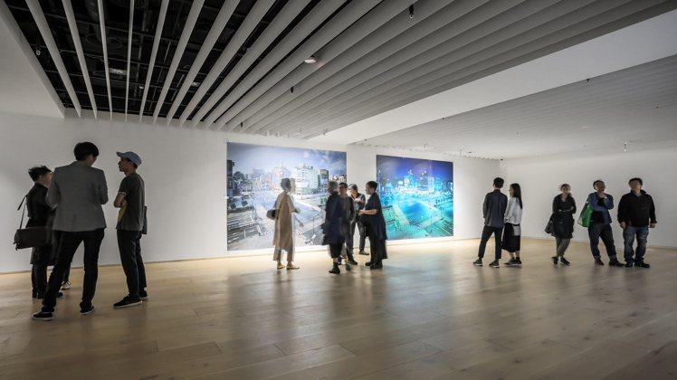 忠泰美術館的展覽「不存在的地方」。圖/忠泰美術館提供
