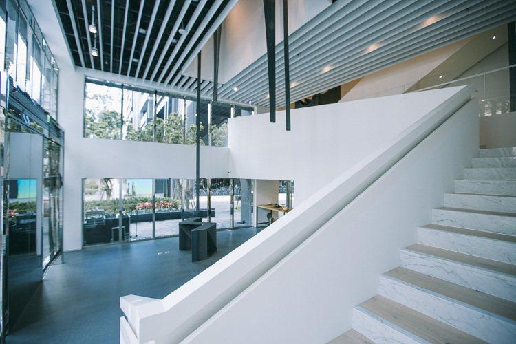 忠泰美術館有李彥良喜歡的白色。圖/忠泰美術館提供