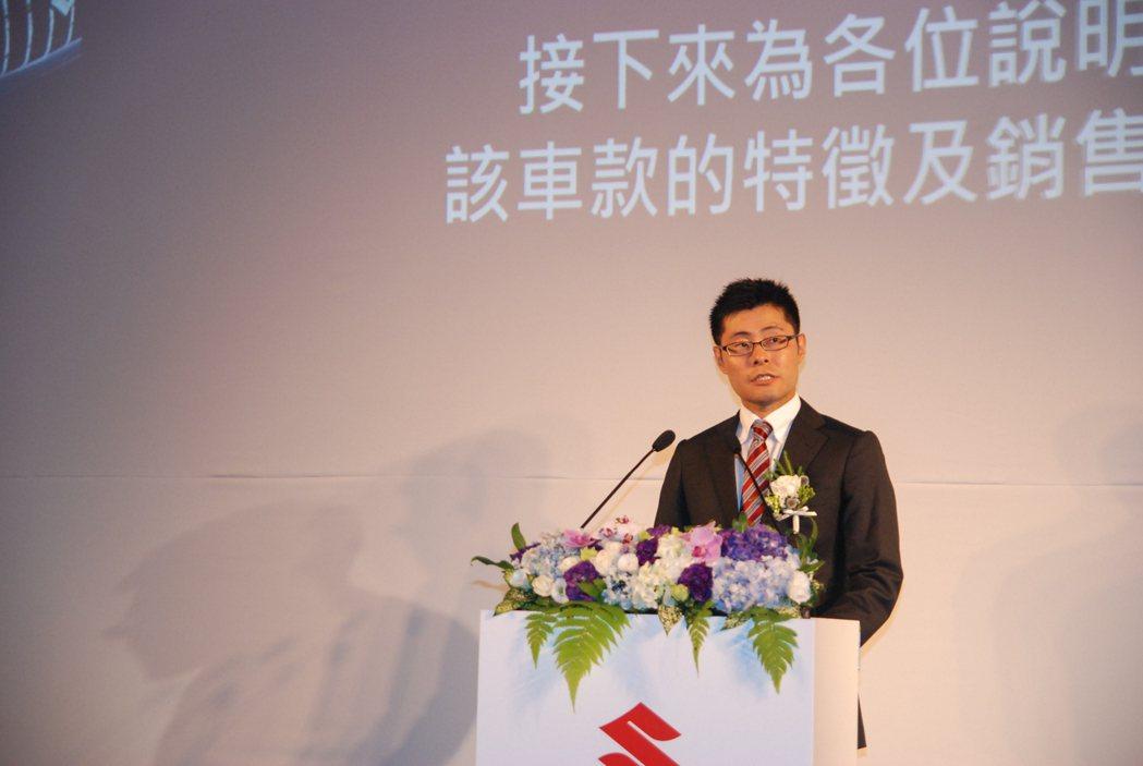 圖為 Taiwan Suzuki 副總經理高橋 淳。 記者林鼎智/攝影