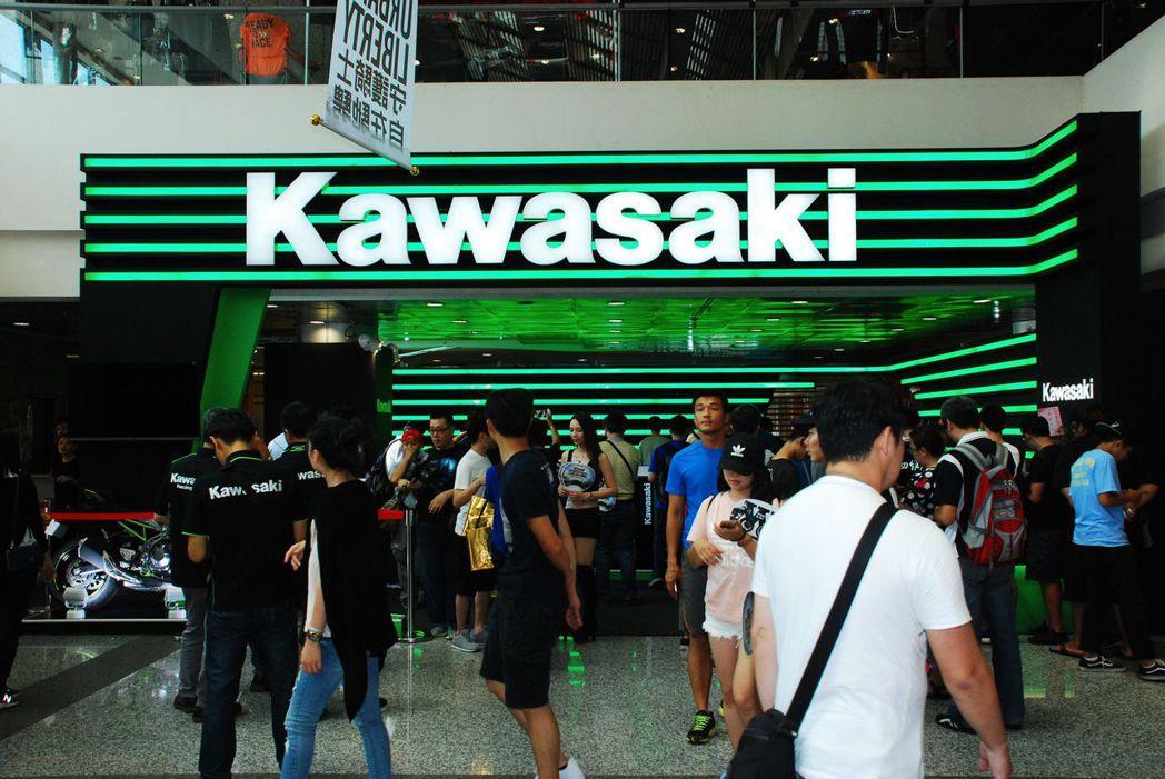 Kawasaki。記者林昱丞/攝影