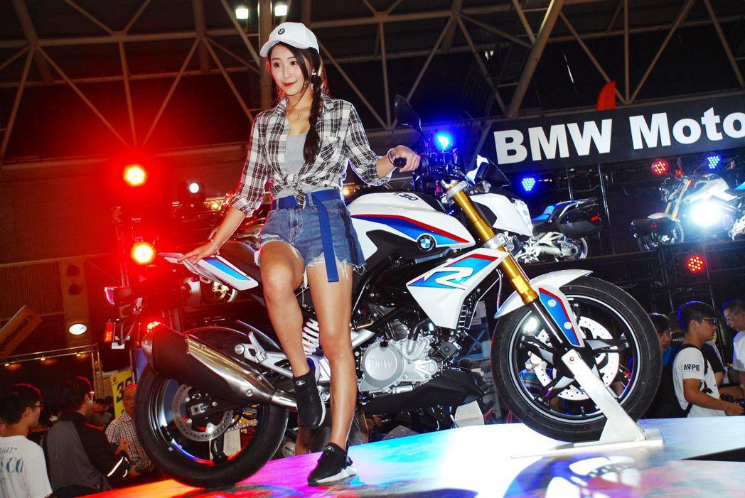 BMW Motorrad發表兩款新車。記者林昱丞/攝影