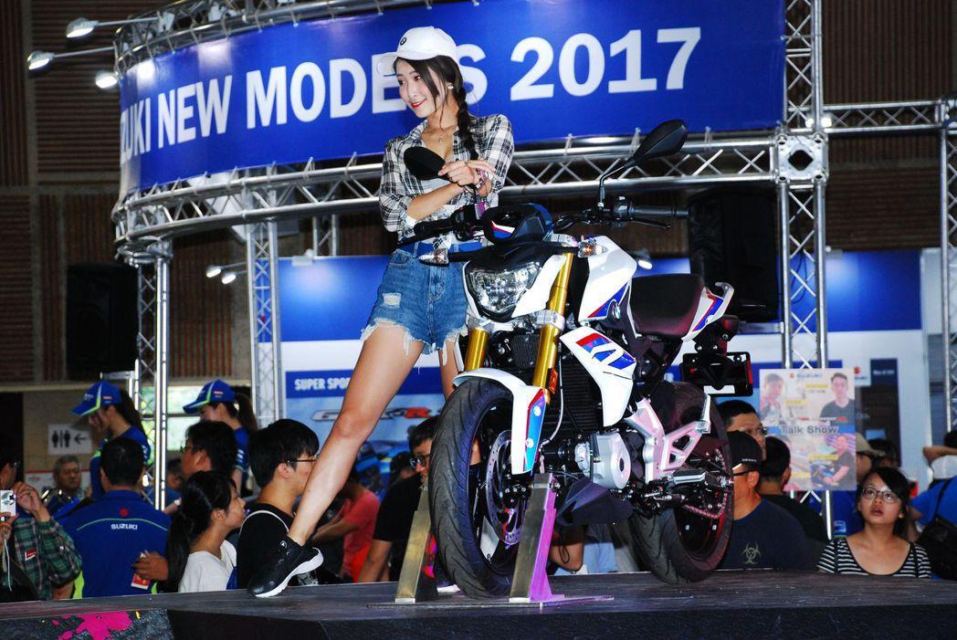 BMW Motorrad。記者林昱丞/攝影