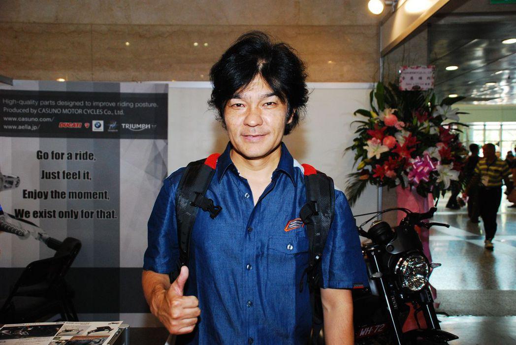 1993年WGP 250cc世界冠軍「原田哲也」。記者林昱丞/攝影